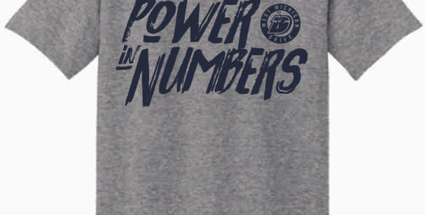 The Drive Power in Numbers Grey T shirt