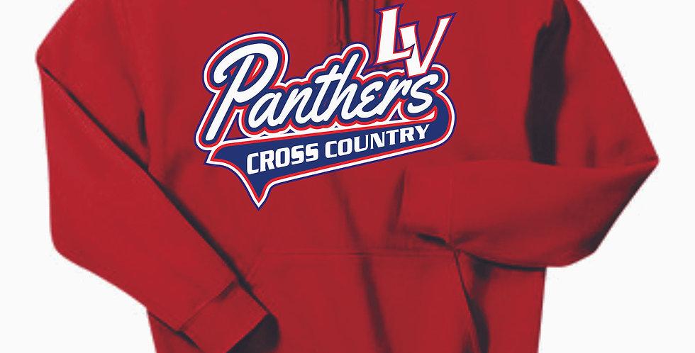 LV XC Red Cotton Hoody