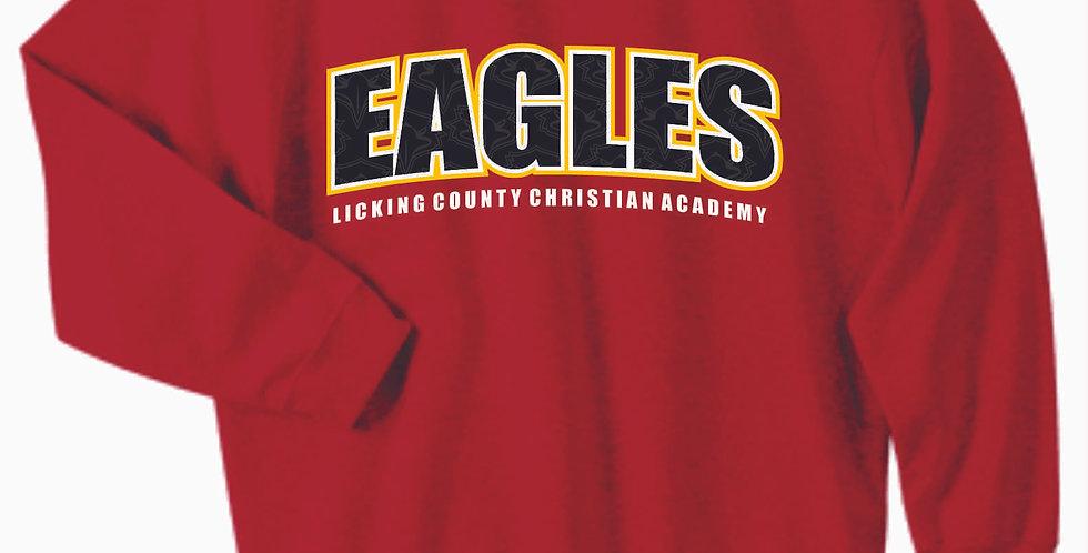LCCA Red Eagles Cotton Crewneck
