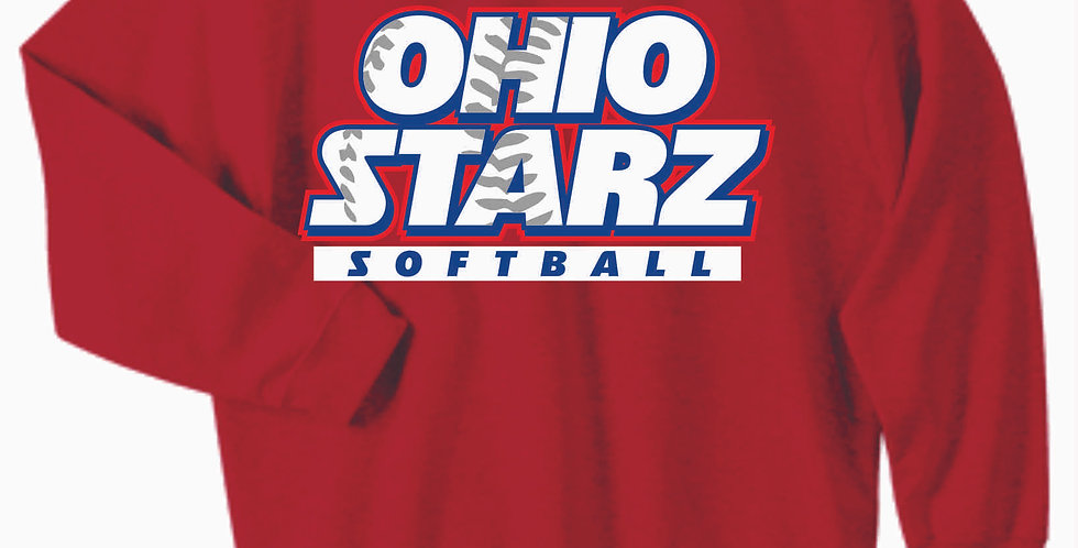 Ohio Starz Red Cotton Crew