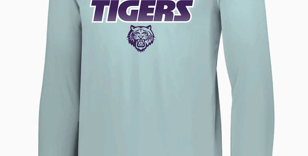 Tiger Generic Grey Longsleeve Dri Fit