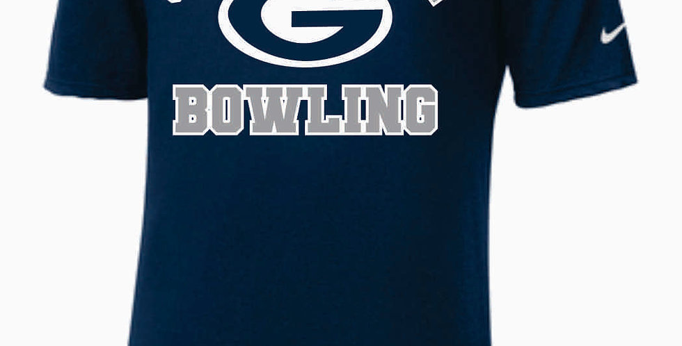 GHS Bowling Navy Nike Core Cotton T-Shirt