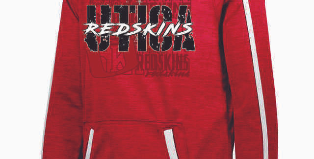 Utica Red Poly Hood