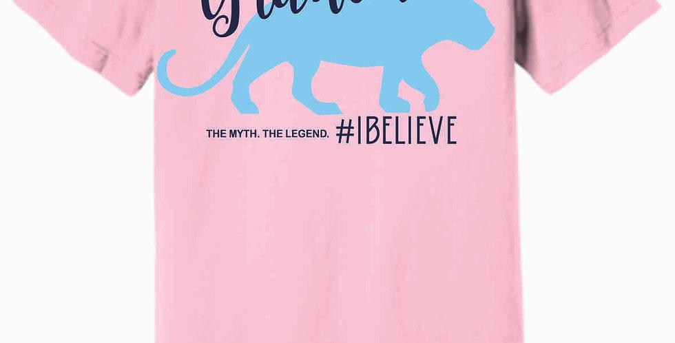Granville Cougar Pink Soft T