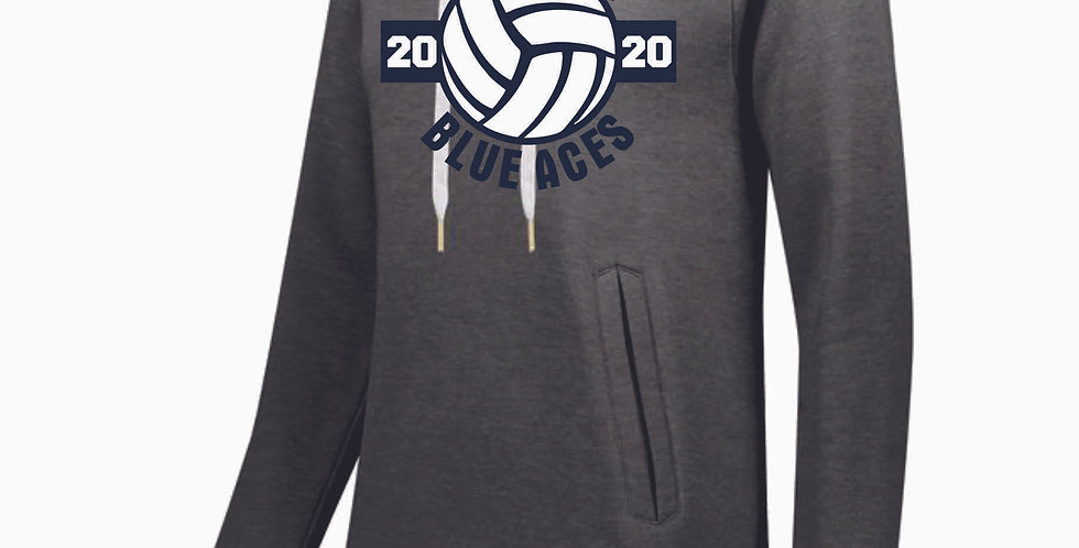 Granville Volleyball Sport Grey Ladies Hoody
