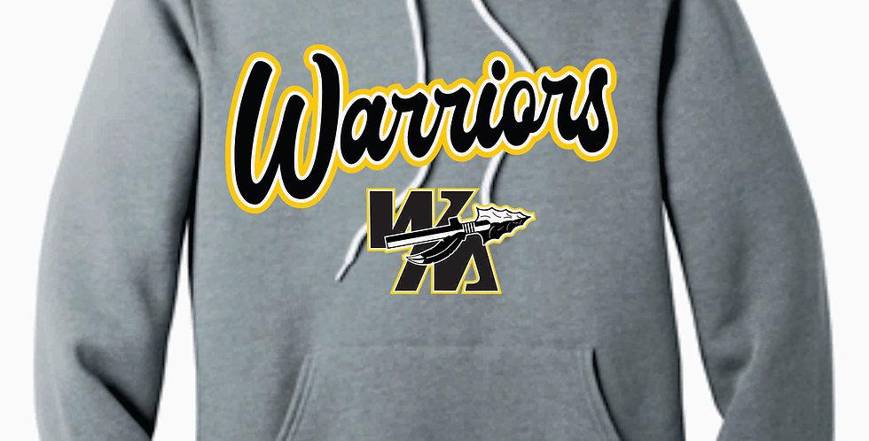 Watkins Youth Basketball Grey Jersey Canvas Soft Hoody