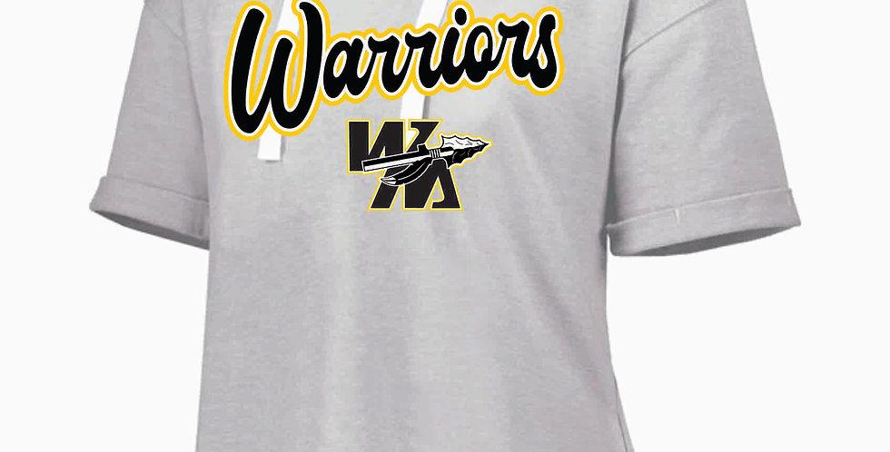 Watkins Youth Basketball Birch Ladies V Neck Short Sleeve Sweatshirt