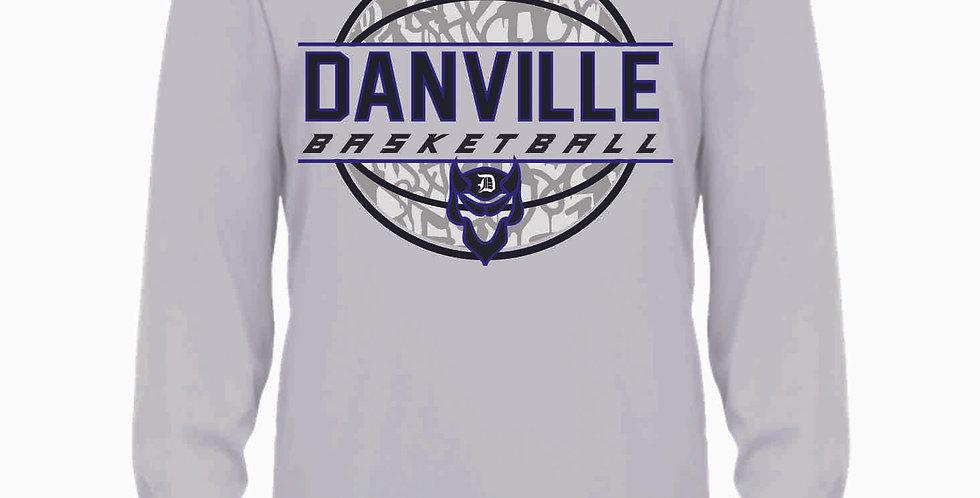 Danville Basketball Grey Longsleeve Dri Fit