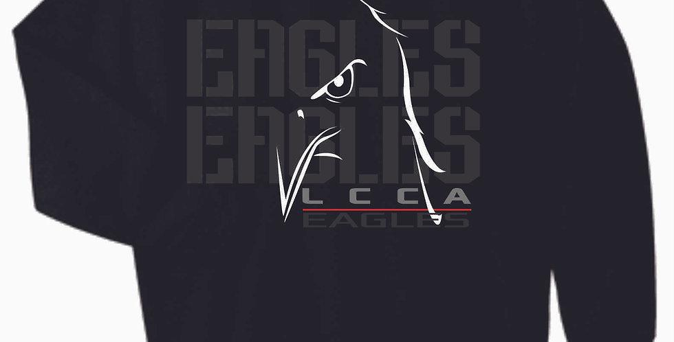 LCCA Black Eagles Cotton Crewneck