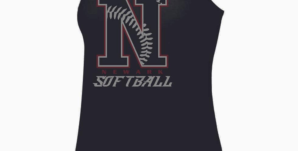 Newark Softball N Black Tank