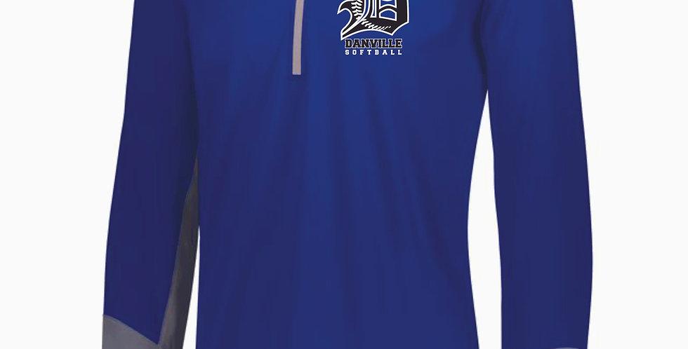 Danville Softball Royal Russell 1/4 Zip Pullover
