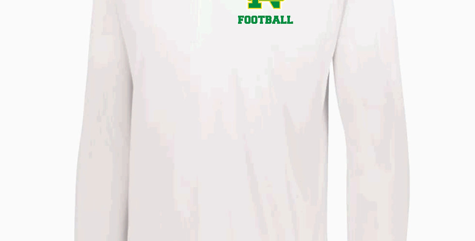 NC Football Holloway White Defer Pullover