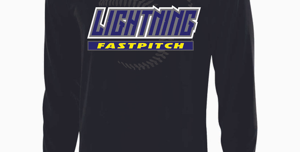 Lightning Black Longleeve Dri Fit