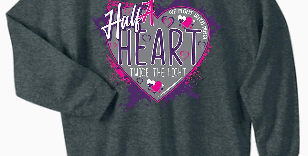 Fight With Maci Crewneck Sweatshirt