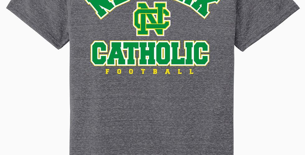 NC Football Grey Soft T shirt
