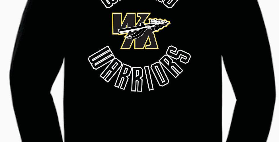 Watkins Youth Basketball Simple Black Cotton Longsleeve T-Shirt
