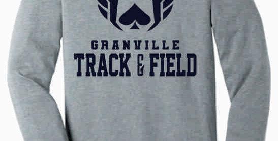 Granville Track and Field Soft Original Grey Longsleeve