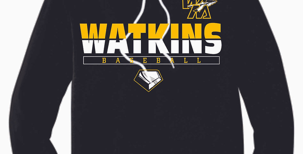SWL Baseball Watkins Black Soft Cotton Hood