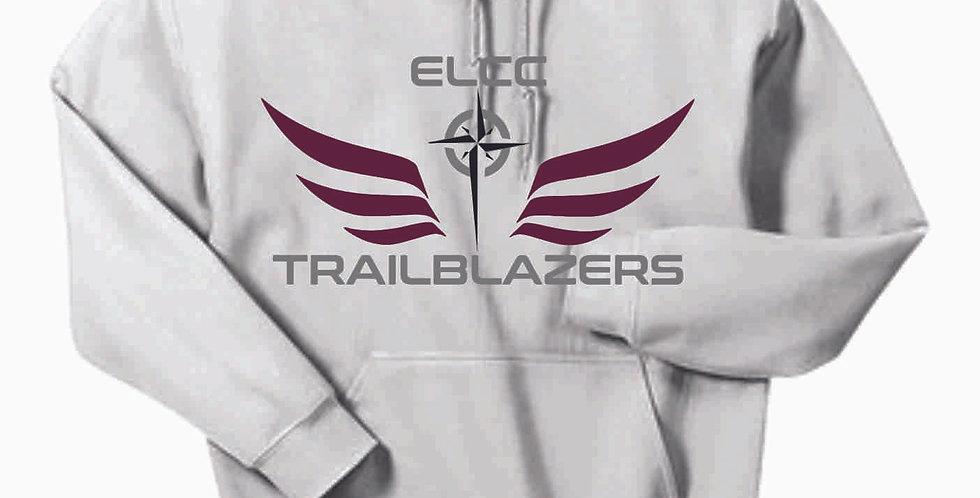 ELCC Basketball White Cotton Hoody