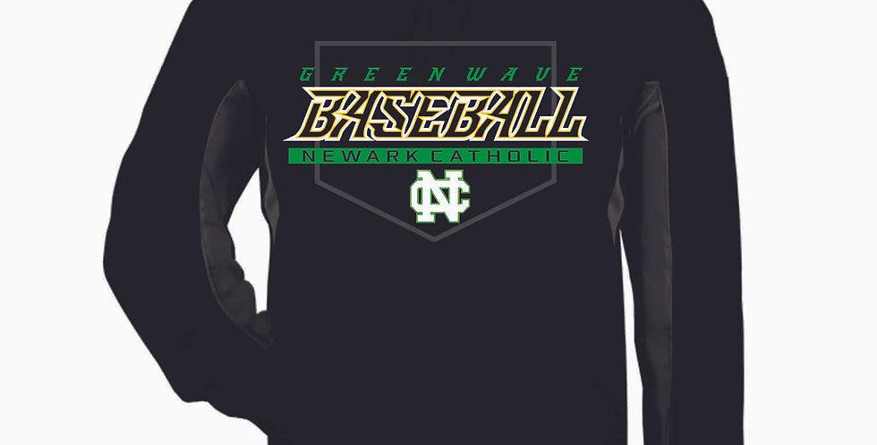 Newark Catholic Baseball Black Poly Hood