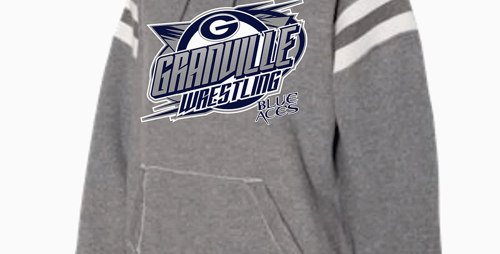 Granville Wrestling J America Grey Hood