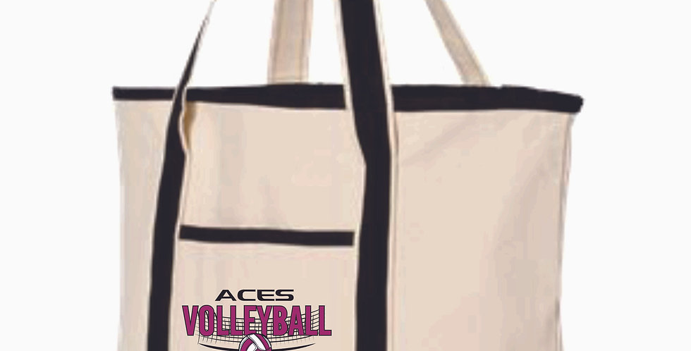 Aces Volleyball Tote Back