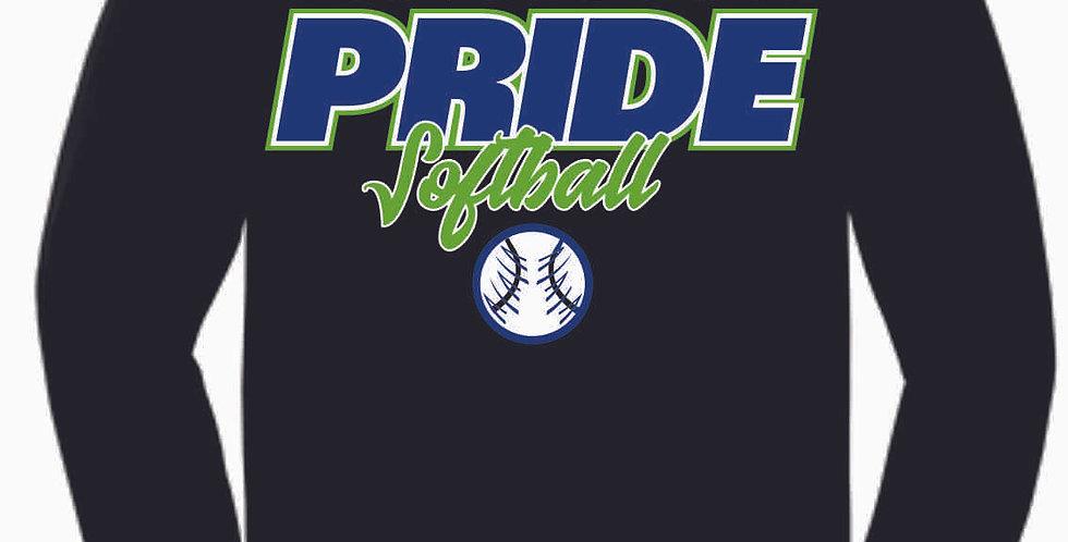 Pride Black Cotton Longsleeve T Shirt