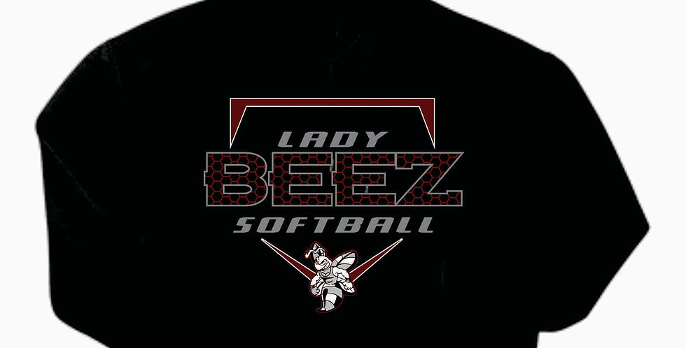 Lady Beez Gildan Cotton Black Hoody