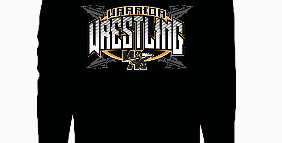 Watkins High School Wrestling Black Underarmour Cotton Hood