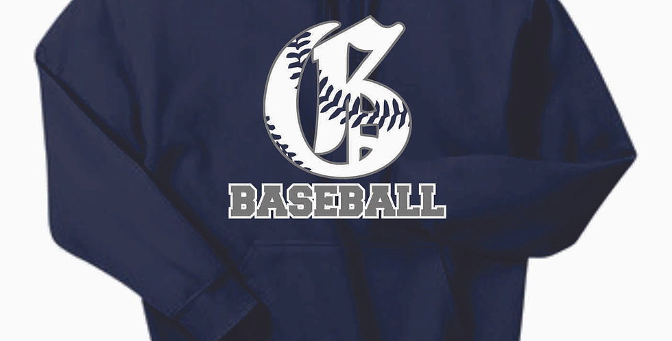Granville Baseball Navy Cotton Hoody
