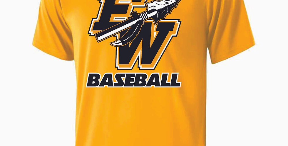 Eastside Warriors Gold Dri Fit Shortsleeve