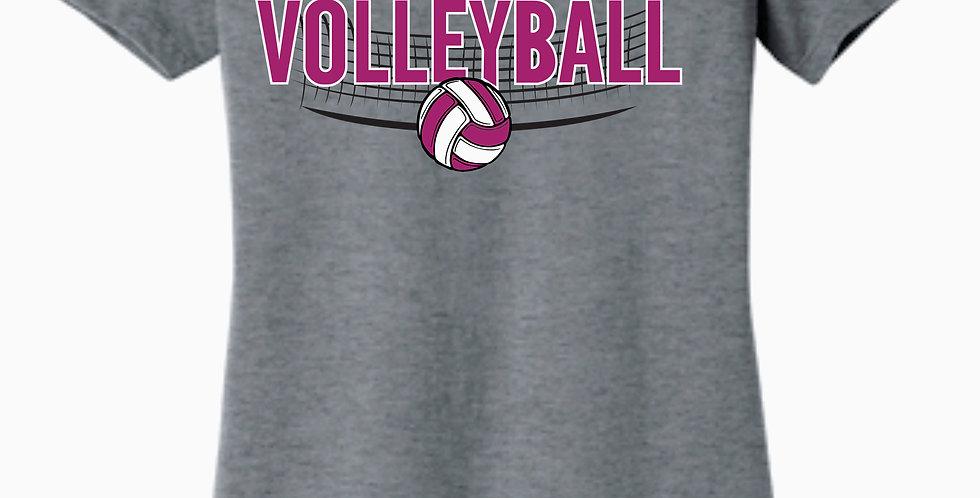 Aces Women's Bella Grey Missy Fit T shirt