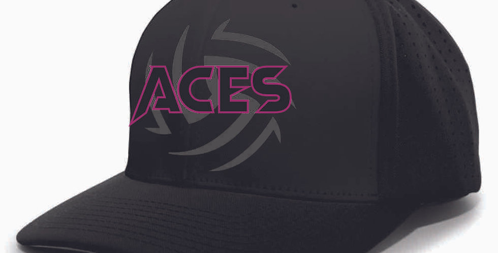 Aces Volleyball Perforated F3 Performance Flexfit