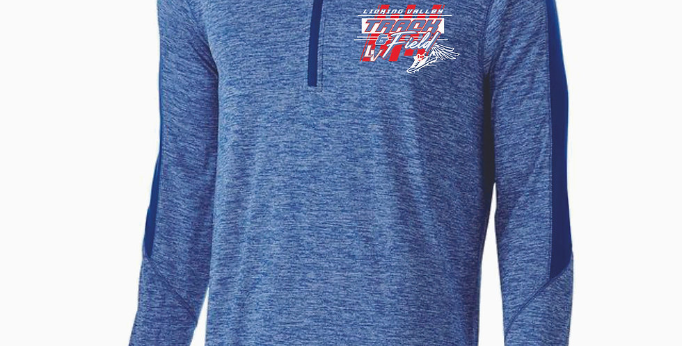 Licking Valley Track and Field Royal Electrify 1/4 Zip