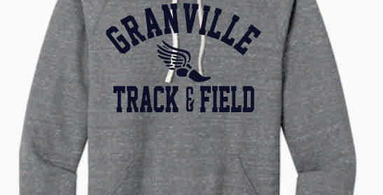 Granville Track and Field Grey Soft Hoody