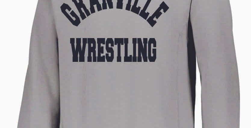 Granville Wrestling Grey Russell Crewneck