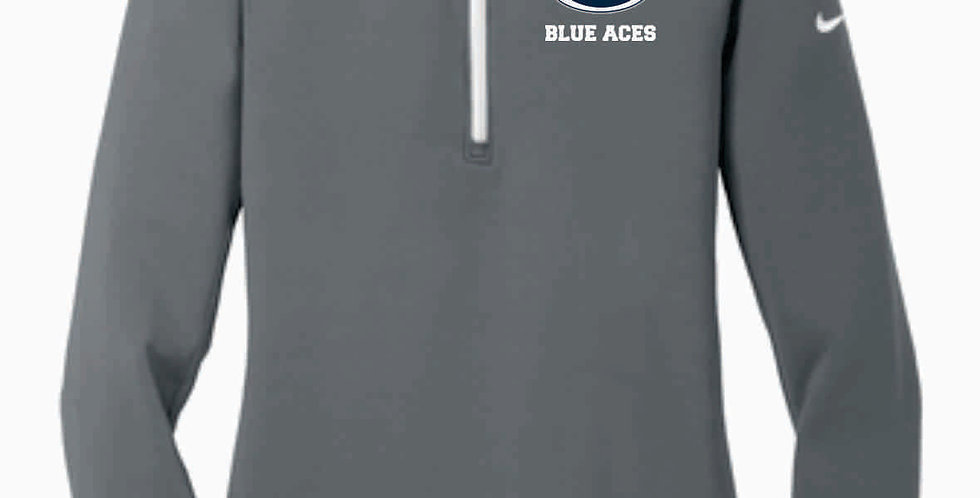 Blue Aces Nike Ladies Dri-FIT Stretch 1/2-Zip Cover-Up