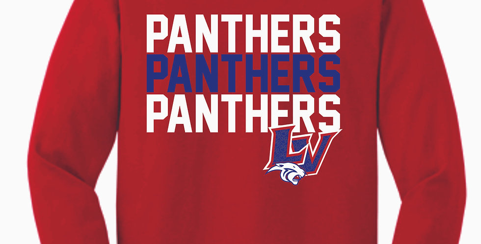 Licking Valley Red Longsleeve T Shirt