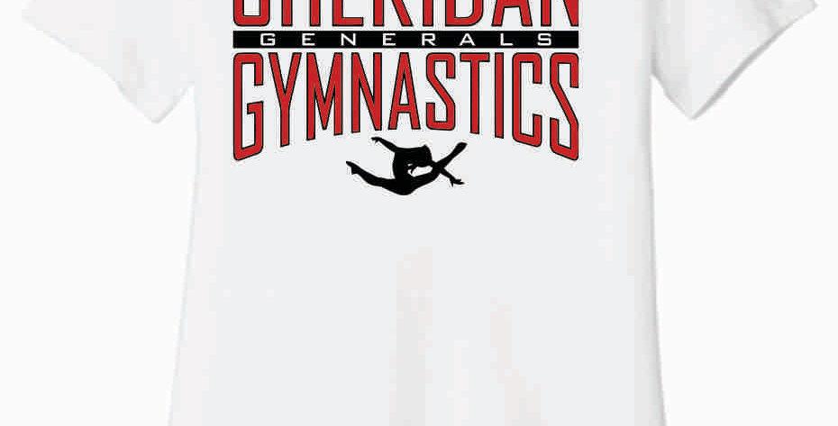 cSheridan Gymnastics Bella Soft White Women's T Shirt