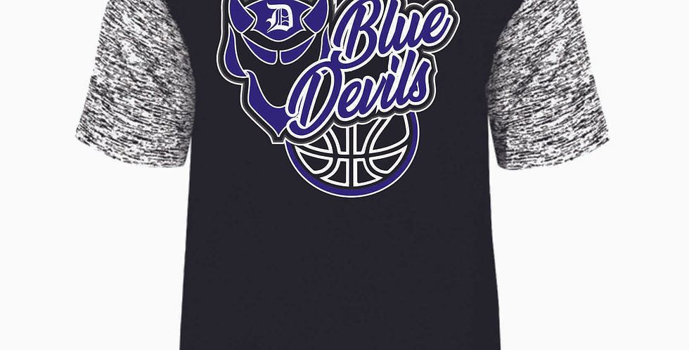 Danville Basketball Black Dri Fit Shortsleeve Tee