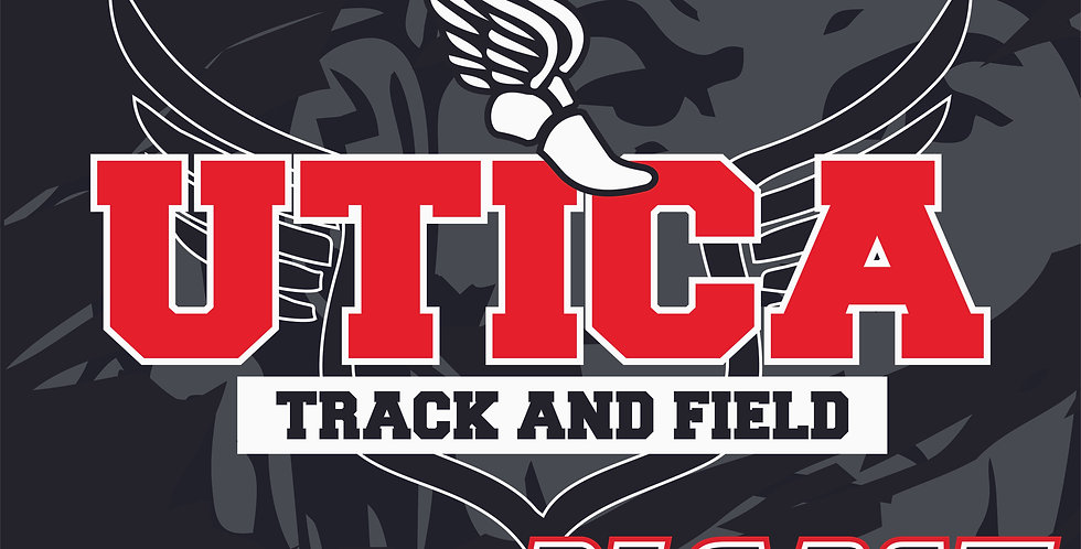 Utica Track and Field Yard Sign