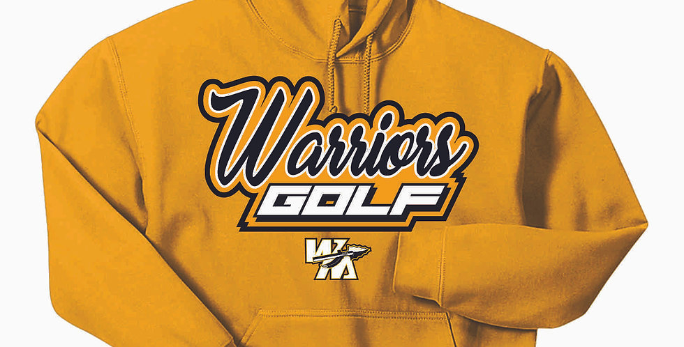 Watkins Golf Gold Cotton Hoody