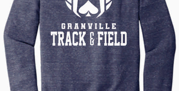 Granville Track and Field Original Navy Soft Crewneck