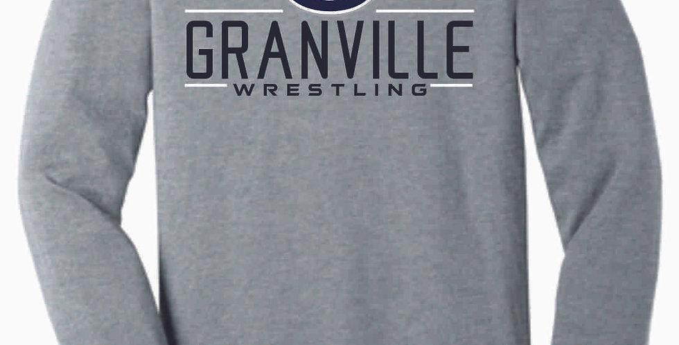 Granville Wrestling Grey Bella Soft Longsleeve