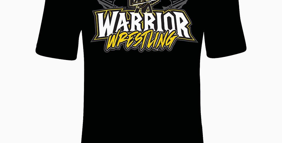 Watkins Youth Wrestling Under Armour Black Simple Simple Dri Fit Shortsleeve