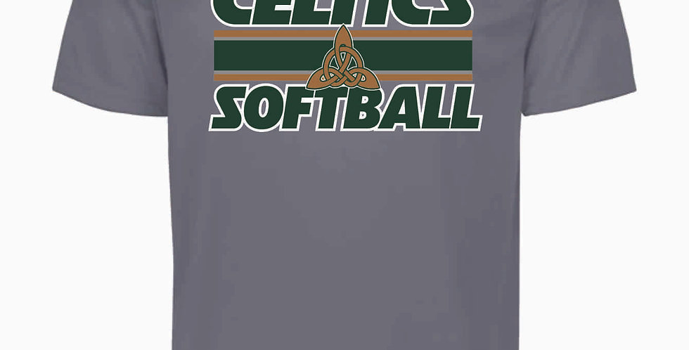 Dublin Jerome Softball Grey Shortsleeve Dri Fit