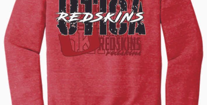 Utica Red Soft Crewneck