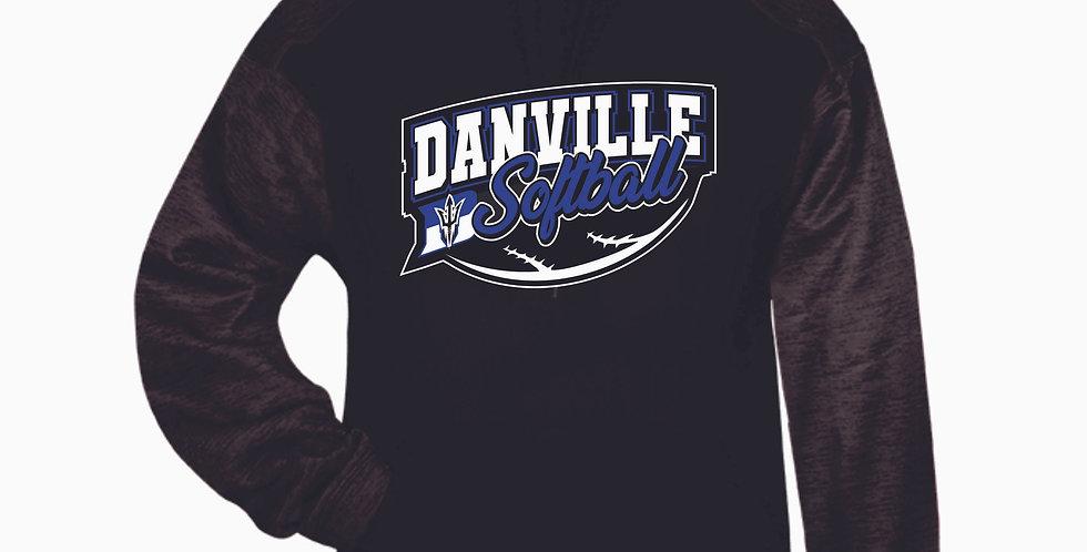 Danville Softball Black Poly Hood
