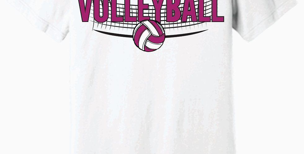 Aces Volleyball Bella Canvas Soft White T shirt