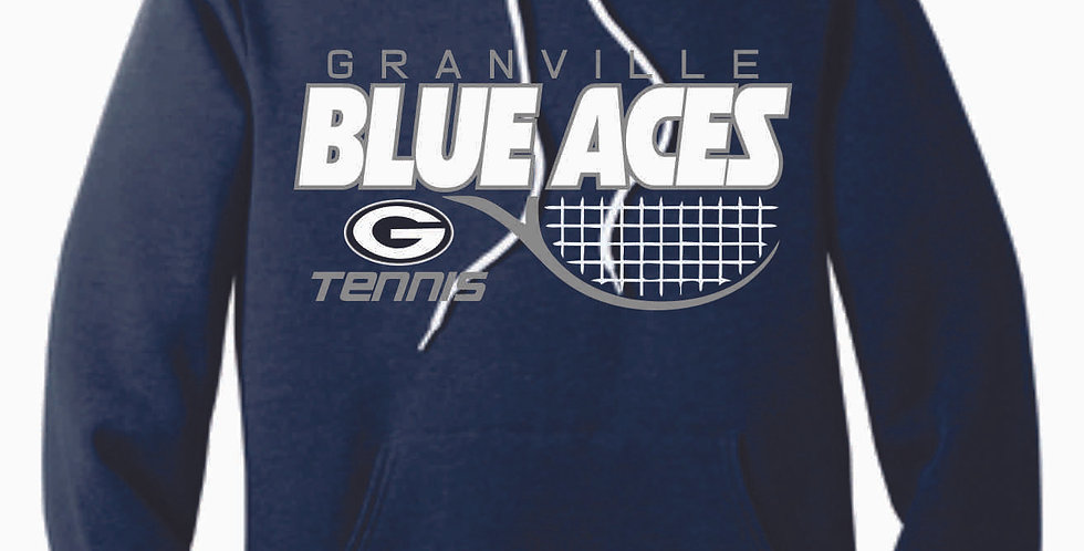 Granville Tennis Canvas Navy Hood